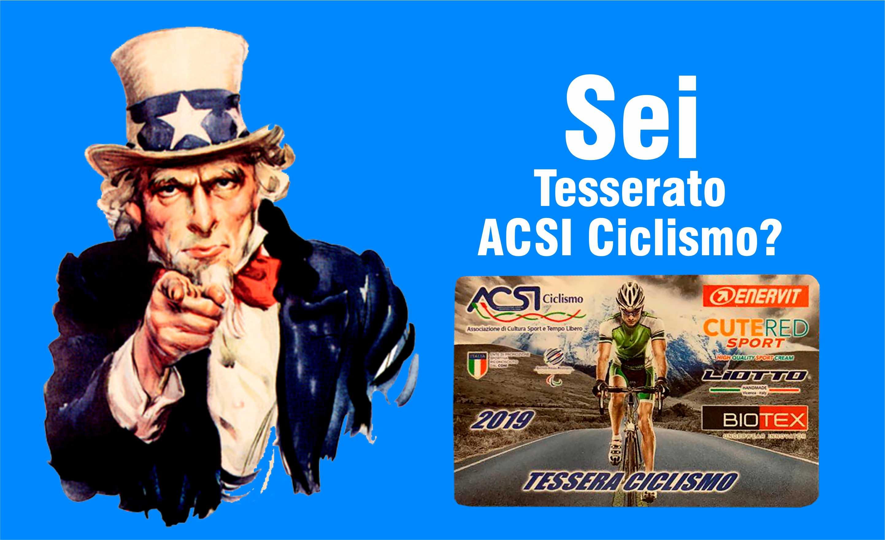 Tesserato ACSI? Conosci tutti i vantaggi della tua tessera?
